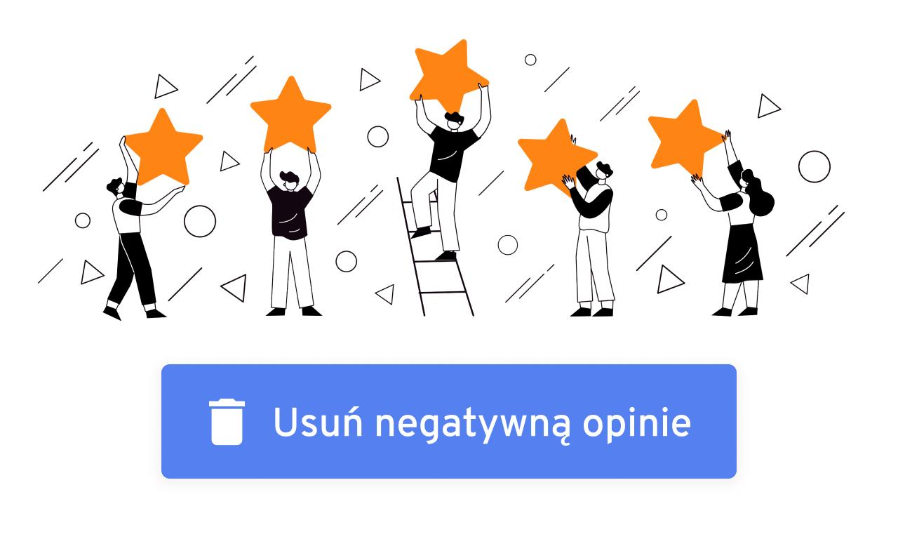 Usuwanie negatywnych opinii z Google