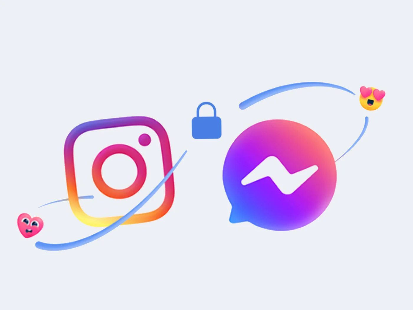 nowe ikonki messengera i instagrama